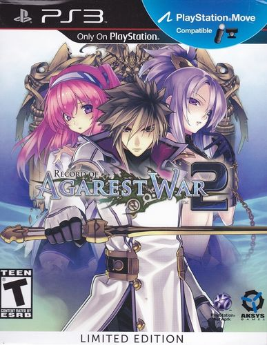 Record of Agarest War 2 (Limited Edition, US-Version) (PS3)