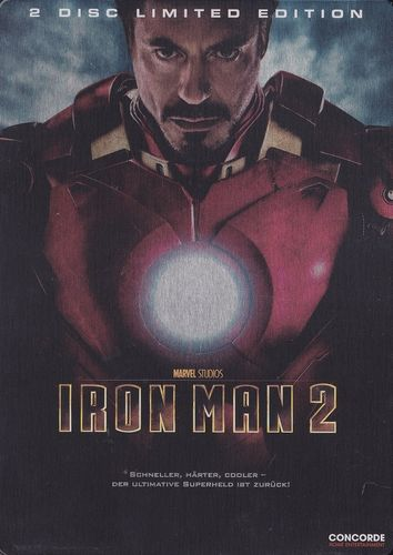 Iron Man 2 (2 Disc Limited Edition im Steelbook) (DVD)