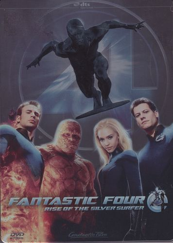 Fantastic Four - Rise of the Silver Surfer (Steelbook) (DVD)