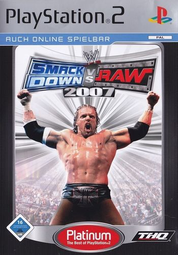 WWE Smackdown vs Raw 2007 (Platinum) (PS2)