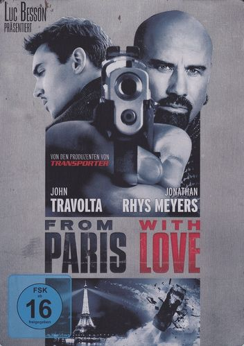 From Paris with Love (Steelbook) (DVD)