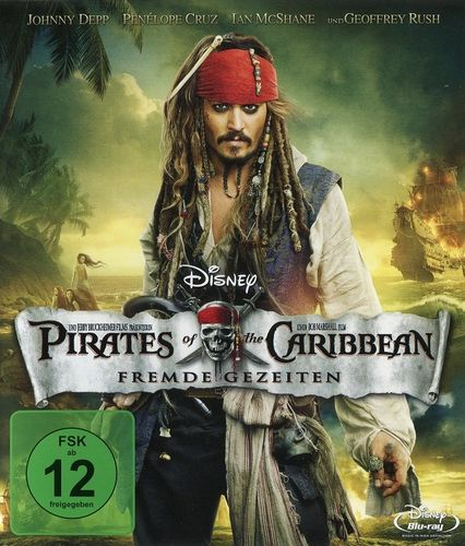 Pirates of the Caribbean 4 - Fremde Gezeiten (Blu-Ray)