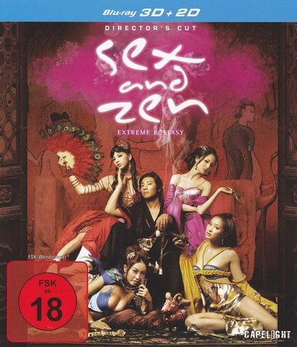 Sex and Zen - Extreme Ecstasy 3D (Director's Cut) (2D + 3D) (Blu-Ray)