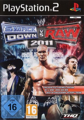 WWE SmackDown vs Raw 2011 Farewell Edition (PS2 - gebraucht: sehr gut)