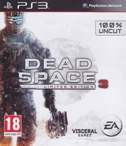 Dead Space 3 (Limited Edition) (PEGI - CS-Import) (PS3 - gebraucht: sehr gut)