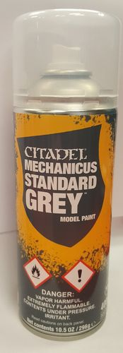 Grundierspray: Mechanicus Standart Grey (400ml)