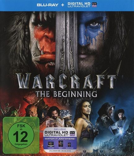 Warcraft - The Beginning (Blu-ray - gebraucht: sehr gut)
