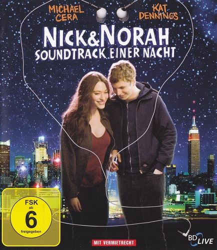 Nick & Norah - Soundtrack einer Nacht (Verleihversion) (Blu-ray)