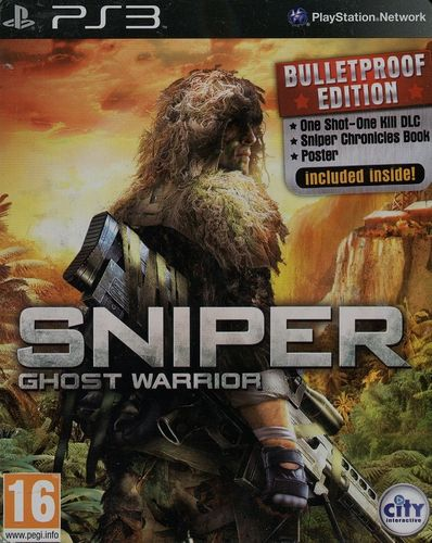 Sniper - Ghost Warrior (Bulletproff Edition, Steelbook) (PEGI) (PS3)