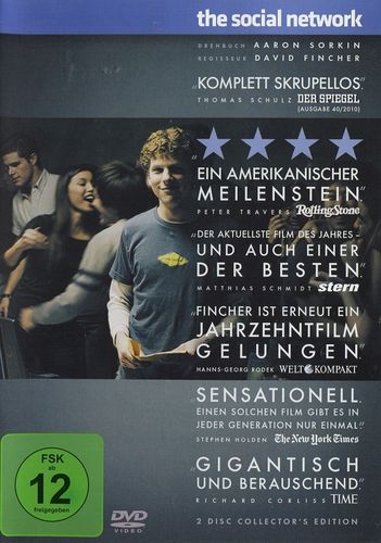 The Social Network (2 Disc Collector's Edition) (DVD)
