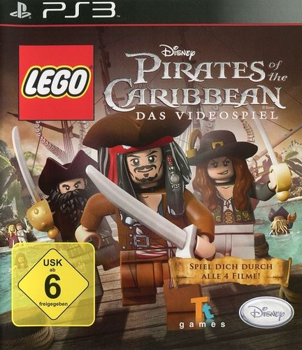 Lego Pirates of the Caribbean - Das Videospiel (PS3)