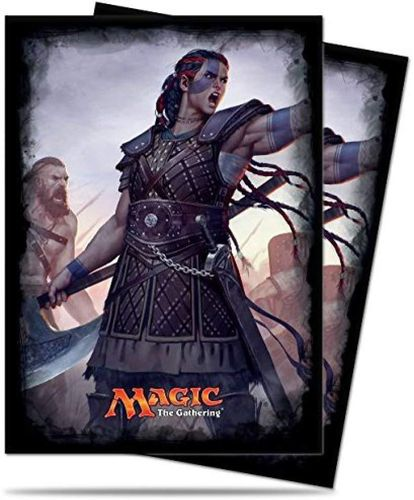 Deck Protector - Commander 2016 - Saskia, the Unyielding (120 Sleeves) (Neu)