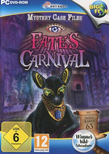 Mystery Case Files: Fate's Carninval (PC - gebraucht: sehr gut)