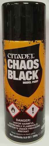 Grundierspray: Chaos Black (400ml)