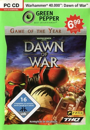 Warhammer 40.000 - Dawn of War (Game of the Year Edition, Green Pepper) (PC)