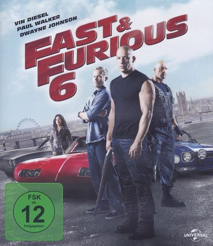 Fast and Furious 6 (Blu-ray)