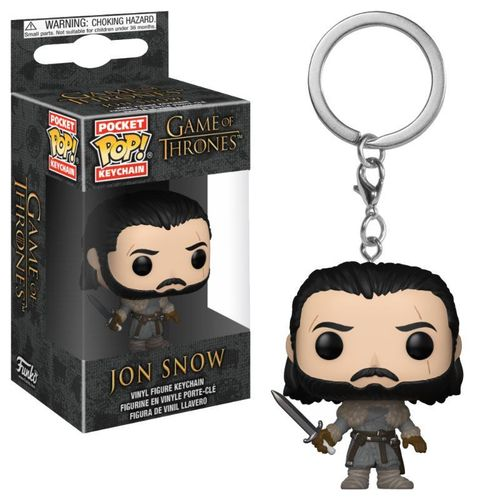 Jon Snow (Beyond the Wall) (Pop! Pocket Keychains: Game of Thrones) (Neu)