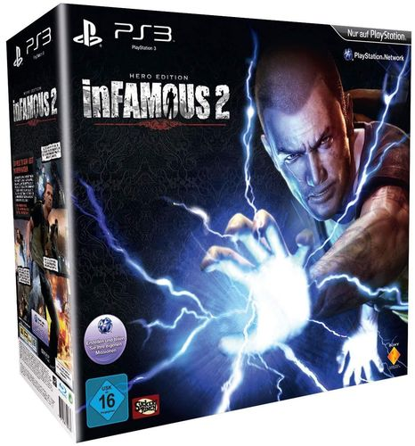 inFamous 2 (Hero Edition) (PS3)