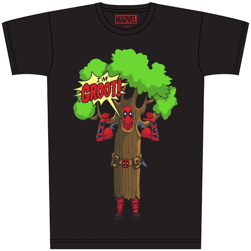 "Deadpool T-Shit ""I'm Groot"" Größe: M"