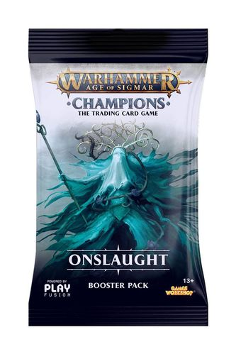 "AoS Champions - Wave 2 ""Onslaught"" Booster (Englisch) (Neu)"