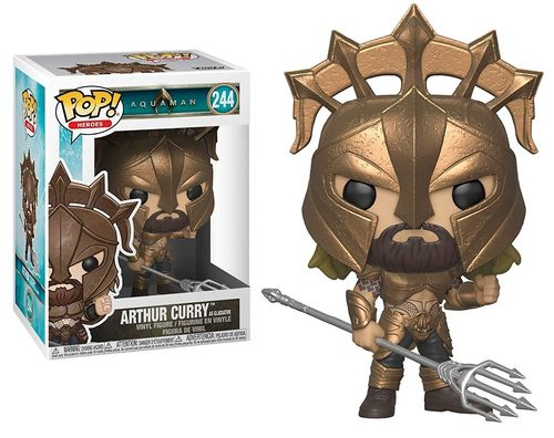 Arthur Curry as Gladiator (Pop! Heroes #244: Aquaman) (Neu)