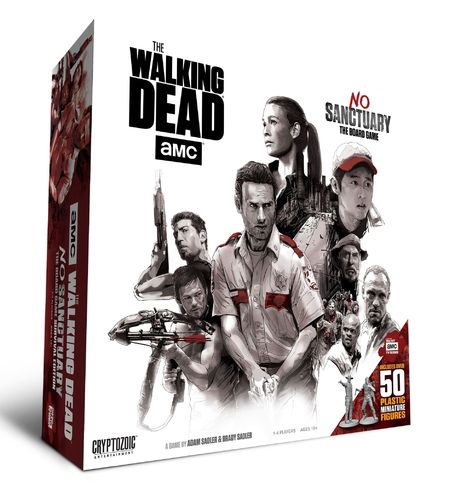 The walking Dead - No Sanctuary (The Board Game) (Neu)