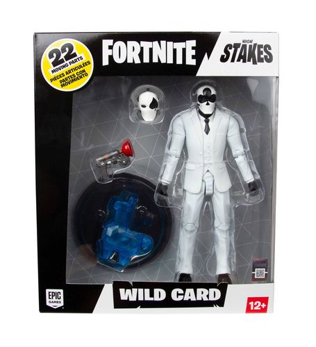 Fortnite Actionfigur: Wild Card (Black) (ca. 18 cm) (Neu)