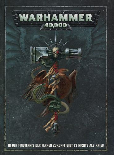 Warhammer 40.000 Regelwerk: 8. Edition (Hardcover, Deutsch)