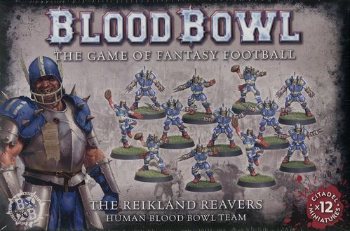 The Reikland Reavers - Human Blood Bowl Team (Neu)