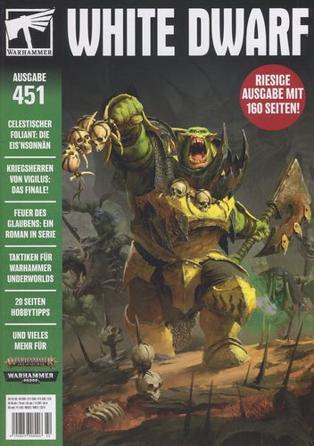 White Dwarf (Deutsch) #451 (Neu)