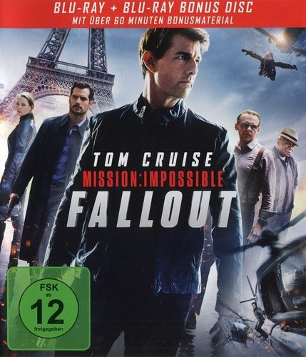 Mission: Impossible 6 - Fallout [inkl. Bonus Disc] (Blu-ray - gebraucht: gut)