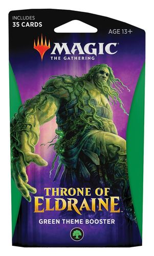 Theme Booster Throne of Eldraine - Green (Neu)