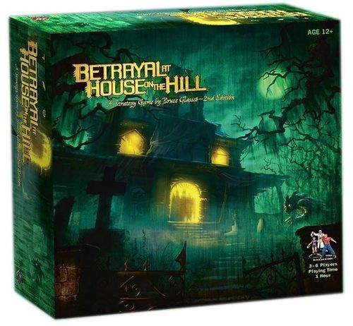 Betrayal at House on the Hill (2nd Edition, englisch) (Neu)