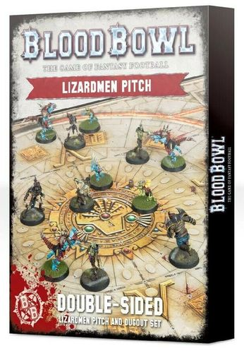 Lizardmen Pitch - Double Sided: Pitch and Dugeou Set (Englisch) (Neu)