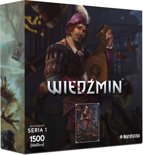 Heroes of the Witcher Series 1 Puzzle - DENDELION (Neu)