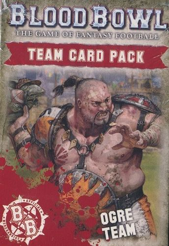 Blood Bowl Team Card Pack: Ogre Team (Englisch) (Neu)