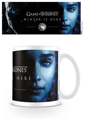 Game of Thrones Tasse Winter Is Here - Daenereys (0,33 Liter) (Neu)