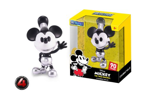 Disney Metalfigs Diecast Minifigur Mickey Steamboat Willie