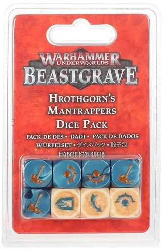 Beastgrave: Hrothgorn's Mantrappers Dice Pack (Neu)