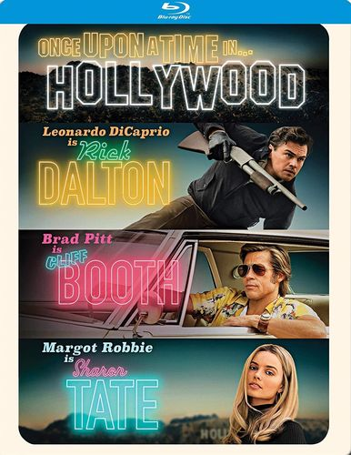 Once Upon a Time in... Hollywood [Steelbook] (Blu-ray - Neu)