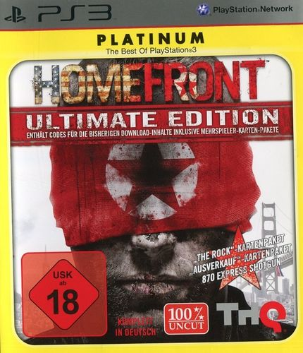 Homefront [Ultimate Edition, Platinum, uncut] (PS3 - gebraucht: gut)