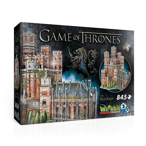 Game of Thrones 3D Puzzle Der Rote Bergfried (Neu)