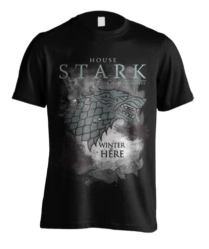 Game of Thrones T-Shirt Winter Has Come For House Stark - Gr. XXL (Neu)