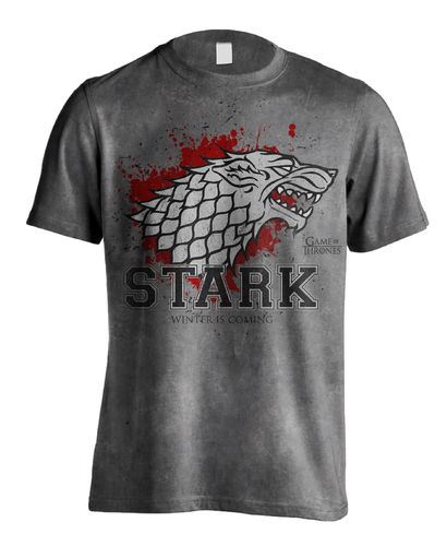 Game of Thrones T-Shirt Stark the Fighter - Gr. M (Neu)