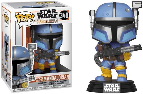 Heavy Infantry Mandalorian (Pop! Star Wars #348: The Mandalorian) (Bobble-Head) (Neu)