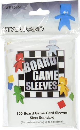 Board Games Sleeves: Standard Size (63x88mm) - 100 Stück