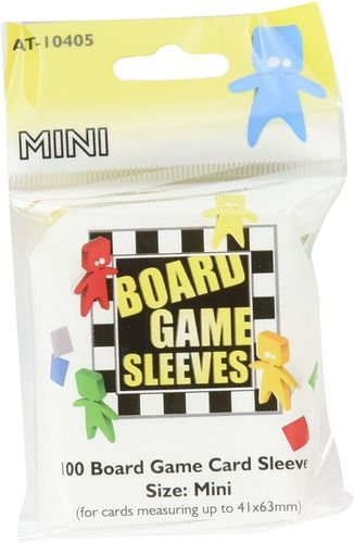 Board Games Sleeves: American Variant - Mini (41x63mm) - 100 Stück