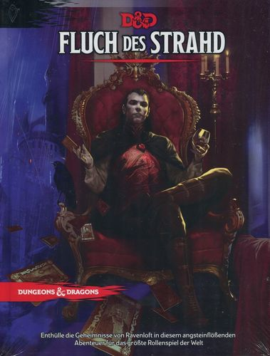 D&D: Fluch des Strahd (Deutsch, Hardcover)