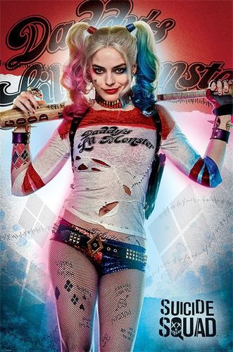 Suicide Squad: Poster Daddy's Lil Monster (61x91 cm)