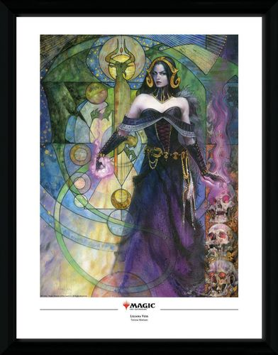 Magic the Gathering - Poster im Rahmen: Liliana, Untouched by Death